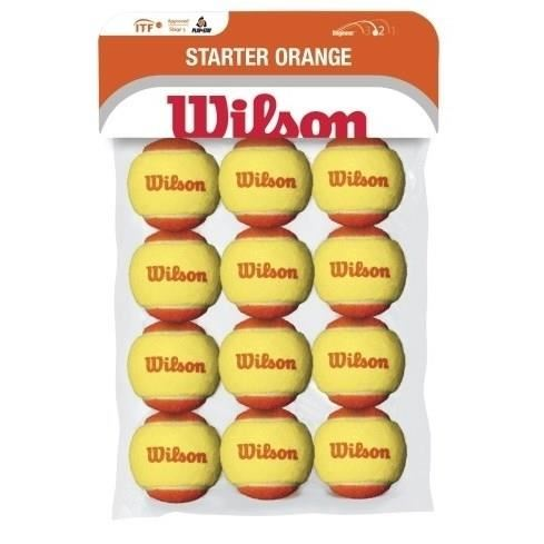 Mingi Wilson STARTER ORANGE TBALL 12PACK