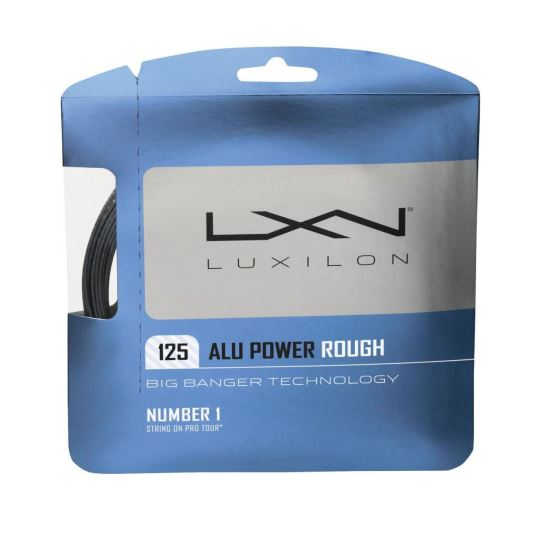 Racordaj Luxilon ALU Power Rough 125, gri