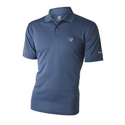 Tricou polo Wilson Staff Authentic, barbati, bleu
