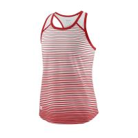 Maiou Wilson Team Crew Striped, fete, alb/rosu, S