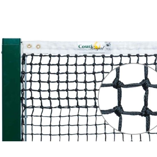 TENNIS NET COURT TN 20 BLACK