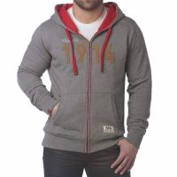 Hanorac M FULL ZIP SWEATSHIRT GY